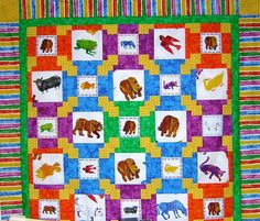 Bright Hopes Quilting: Brown Bear, What Do You See