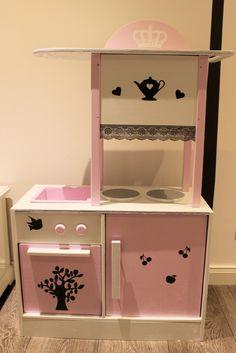 kaufladen rosa wei shabby kaufmannsladen von domis pusteblume auf kaufladen und. Black Bedroom Furniture Sets. Home Design Ideas