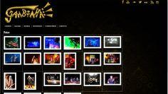 Página de Fotos do site da Banda Gambiaha