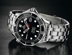 OMEGA SeamsterDiver 300 The James Bond Collectors Piece -Limited Edition: released with the movie Quantum of Solace (2008) [Link]