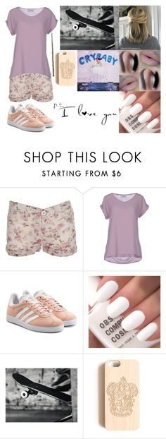 """""""P.s. I LOVE YOU"""" by violett-viol-089 ❤ liked on Polyvore featuring Alpha Studio and adidas Originals"""