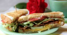 Take your classic BLT sandwich, add a fried egg and you've got some kinda good goin' on there! Great anytime for breakfast, lunch or dinner.