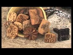 Tie Dye and Batik - traditional dyeing with Indigo and Kola Nuts in Gambia.. Part1  - YouTube