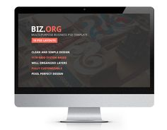 "Check out new work on my @Behance portfolio: ""Bizorg — Multipurpose Corporate Business PSD Template"" http://be.net/gallery/35168419/Bizorg-Multipurpose-Corporate-Business-PSD-Template"