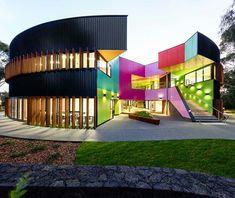 Ivanhoe Grammar Senior Years Center | Designed by McBride Charles Ryan | located in Mernda, Australia