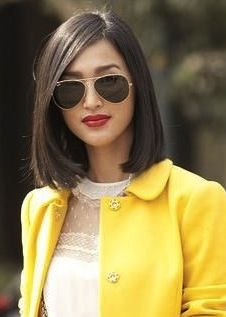 lob, thin hair Medium Hair Cuts, Medium Hair Styles, Short Hair Styles, Asian Hair Lob, Lob Haircut Thin, Melena Bob, Blunt Hair, Rides Front, Medium Bob Hairstyles