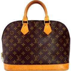 Authentic Louis Vuitton Monogram Alma Handbag