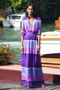 Liya Kebede wearing