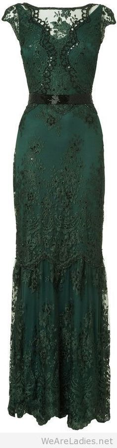 House of Fraser Phase Eight Cindy Green Lace