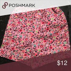 Girls gap shorts Girls gap shorts pink floral -slim GAP Bottoms Shorts