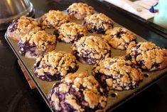Un muffin aux bleuets complètement renversant - Recettes - Recettes simples et géniales! - Ma Fourchette - Délicieuses recettes de cuisine, astuces culinaires et plus encore!