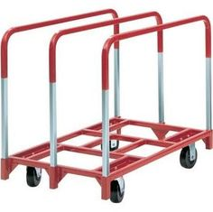 Raymond Products 3825 Panel Mover with 2 Fixed and 2 Swivel 5 in. Phenolic Casters 3 Standard Uprights Designed principally for moving office partition panels, School Furniture, Furniture Dolly, Cheap Furniture, Office Partition Panels, Robotic Welding, Steel Deck, Welding Table, Steel Panels, Banquet Tables