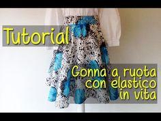 Tutorial: Come Realizzare Gonna a Ruota DIY | BibiLoves.it - YouTube