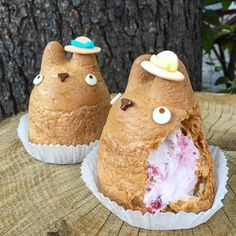 "1,703 Likes, 93 Comments - ROBBIE (@itd_be_rude_not_to) on Instagram: ""Dreaming of the berry cream filling inside this Totoro Cream Puff Shirohige's Cream Puffs #japan…"""