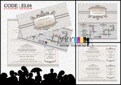 Rekaan Kad Kahwin dalam Koleksi ELEGANT oleh Magiccard Enterprise :: Page 1/2