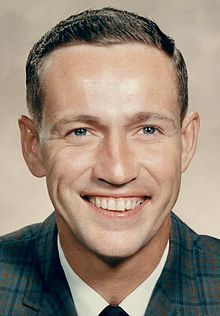 Don Eisele, (June 23, 1930 – December 2, 1987) was a United States Air Force test pilot and later a NASA astronaut. He occupied the command module pilot seat during the flight of Apollo 7 in 1968. After retiring from both NASA and the Air Force, he became the United States Peace Corps country director for Thailand, before moving into private business.  Luthor B. Turner Lodge No. 732, Columbus Ohio.