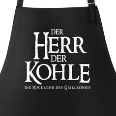 BBQ apron for men with saying The Lord of the Coal Grill .- Grill-Schürze für Männer mit Spruch Der Herr der Kohle Grillkönig Baumwoll-S… BBQ apron for men with a saying The Lord of the Coal Grillkönig Cotton apron Kitchen apron Moonworks® - T Shirt Diy, Shirt Shop, Cool Shirts, Funny Shirts, Papa Shirts, Coal Grill, Pizza T, Baker Logo, The Walking Dad
