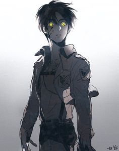 Eren Eger • Attack on titan • Shingeki no kyojin