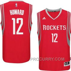 Dwight Howard Houston Rockets  12 2014-15 New Swingman Road Red Jersey b9e4a471e