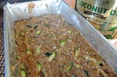 Zucchini coconut flour bread