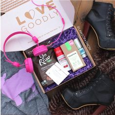 A cruelty free, eco, vegan subscription box with a mix of beauty, wellness and lifestyle products.