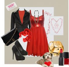 """Valentine"" by armband ❤ liked on Polyvore"