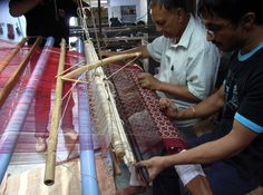 India Indian weaving patola loom double ikat weavers