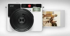Leica's Instant Camera: The Sofort offers a design-minded update to Polaroids - Core77