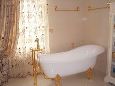 07 Two Storey House, Clawfoot Bathtub, Flooring, Board, Hardwood Floor, Floor, Sign, Paving Stones, Floors