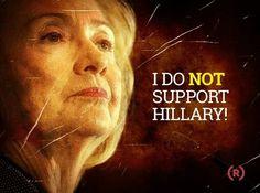 No Hillary 2016