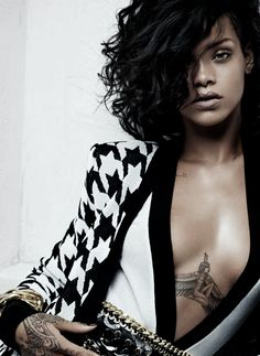 benedictsfashion:  Rihanna for Balmain Spring/Summer 2014 Advertising Campaign, ph. by Inez van Lamsweerde & Vinoodh Matadin.