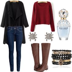 Casual by madalinacorina on Polyvore featuring polyvore мода style H&M Cole Haan Cathy Waterman Samantha Wills Marc Jacobs
