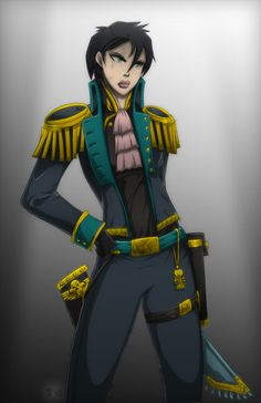 Inquisitor Kate Blackwing by Kain-Moerder
