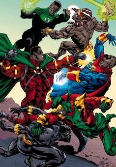 """cryamerica: """" Why Black Superheroes aren't successful A.Lack of personal identity Many black superheroes are just a black version of a characters that already exists. Icon is a black Superman, Photon. Black Anime Characters, Comic Book Characters, Comic Book Heroes, Comic Character, Comic Books Art, Marvel Characters, Comic Art, Dc Comics Art, Marvel Dc Comics"""