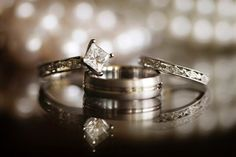 Summer Gibs  Photography - Virginia Photographers - Engagement ring and wedding band photo