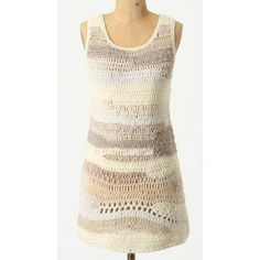 Anthropologie Far Away From Home Sweater Tunic