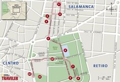 Walking Tour from Plaza Colon to the Retiro Park in Madrid