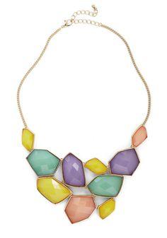 Treasured Friend Necklace #pastels #spring Get 10% Cash Back http://www.studentrate.com/vsu/get-vsu-student-deals/ModCloth-Student-Discounts--/