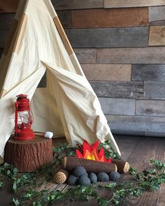 Campfire Play Set – Two Tiny Sunshines     Photo by Melissa F Photography Teepee from Tnee's Tpees