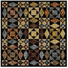 Wild Style,Teri Lucas on Quilt Inspiration: Storm-at-Sea Quilts, free block diagrams and patterns