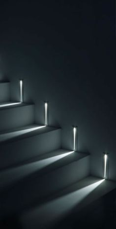 STEP   Simes S.p.A. Stair Lighting, Lighting Design, Interior Stairs,  Staircase Design,