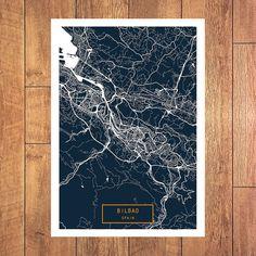 FARGO North Dakota City Map Fargo North Dakota Art Print Fargo North