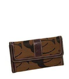 Brown Signature Fashion Wallet   | eBay