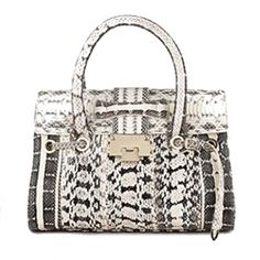 006 jimmy choo spring 2012 handbag collection black and white snakeskin handbag