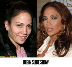 Celebrities, Fail Who's That?! Celebrities Unrecognizable Without Makeup! - The magic of makeup and photoshop