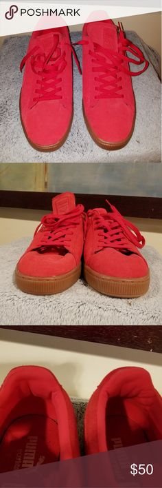 812bfce404b0 Shop Men s Puma Red size 13 Athletic Shoes at a discounted price at  Poshmark. Description  PUMA ECO ORTHOLITE SZ 13 NEVER WORN Official New Nwt  Make offer !