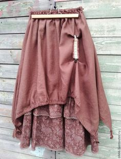 Buy No. 179 Skirt-boho linen long - skirt boho, long skirt