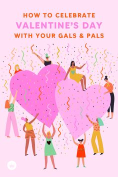 Get ideas and inspiration to share the love when celebrating Galentine's or Palentine's Day because love is for everybody! Join the fun here. Funny Valentine, Be My Valentine, Valentine Gifts, Your Best Friend, Best Friends, Happy Galentines Day, Cards For Friends, How To Introduce Yourself, Are You Happy