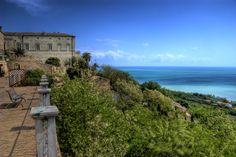 Rossetti's house view (town of Vasto, Abruzzo Italy)