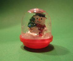 Vending Capsule Snowglobe